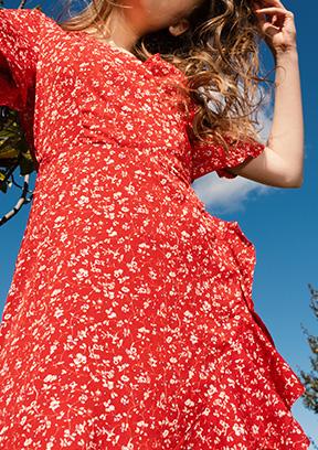 Sélection robes imprimé fleuris Femme PE20