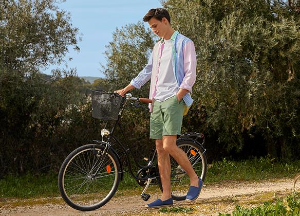 Sommarlook söker passande sandal