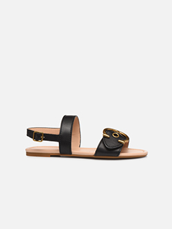 Jen Buckle Sandal - Noir