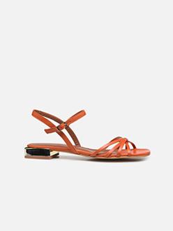 Riviera Couture Sandales Plates #1 - Orange