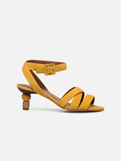 Riviera Couture Sandales à Talon #6 - Jaune