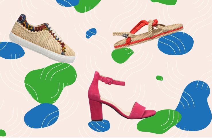 Notre sélection chaussures et sacs éco-responsables femme