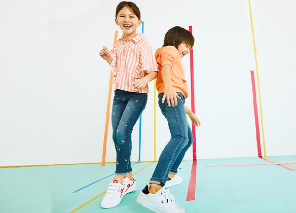 Iconische Sneakers Kinderen SS21