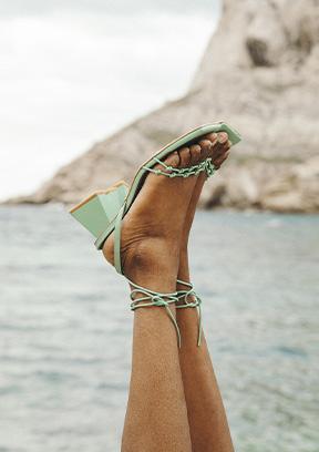 Sélection sandales colorées Gang Sarenza Femme PE21