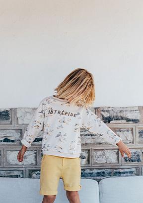 Bambino Focus Abbigliamento Luglio PE21