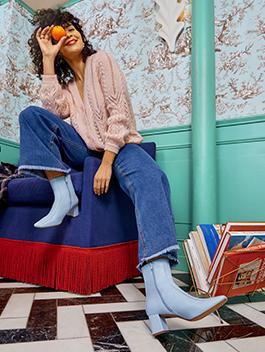 Sarenza schoenen en kleding voor dames
