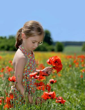 Ninette en fleurs