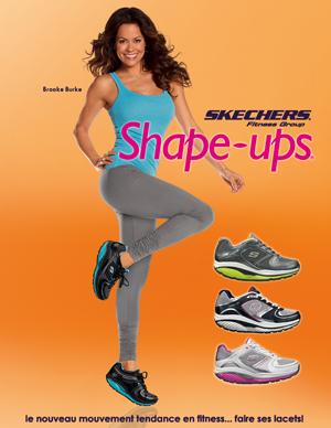 skechers shape ups femme