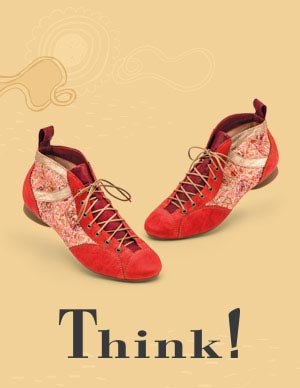 Think! pas cher femmes hommes chaussures soldes